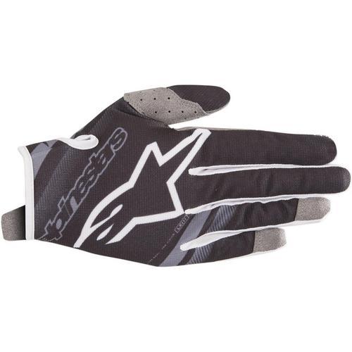 Alpinestars Radar Flight Youth Gloves Black/Mid Gray (Black, 3XS)