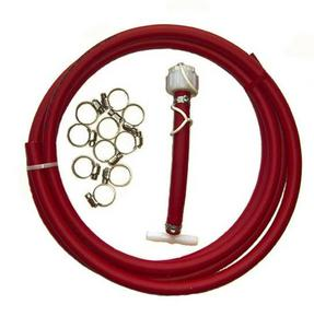 Atlantis A2500XRD Universal Flush Kit with Water Line Kit - Red