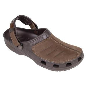 Top Quality Crocs Men's Yukon Mesa Clogs, Intricate Stitch Detail, Fine Leather and Adjustable Heel Strap / 203261-22Z