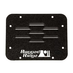 Rugged Ridge 11586.10 Tire Carrier Delete Plate Fits Wrangler Wrangler (JK)