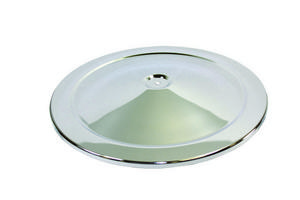 SPECIALTY CHROME 14 in Round Chrome Steel High Dome Air Cleaner Lid P/N 7112A