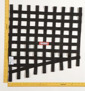 RACEQUIP Trapezoid Blue Window Net P/N 729025