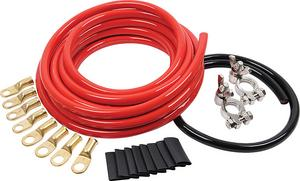 Allstar Performance 2 Gauge Red/Black Battery Cable Kit P/N 76110