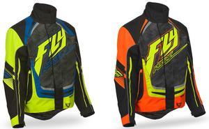 Fly Racing 2016 Adult SNX Pro Snowmobile Riding Jacket Hi-Viz/Black Large