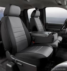 Fia NP99-40 GRAY Neo Neoprene Custom Fit Truck Seat Covers Fits 1500 2500 3500