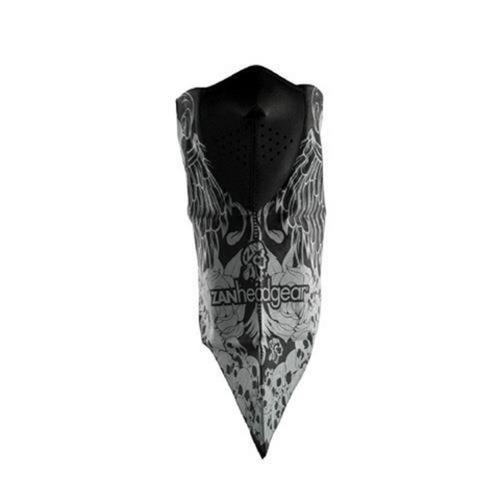 Zan Headgear Neodanna Skull and Wings (Black, OSFM)