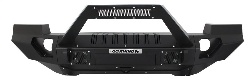Go Rhino 230120103T BRJ40 Front Replacement Bumper Fits 07-18 Wrangler (JK)
