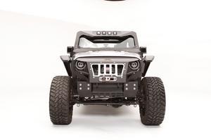 Fab Fours GR1005-1 Grumper Crash Bar Fits 07-18 Wrangler (JK)