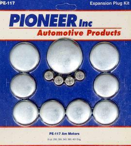PIONEER AMC V8 Steel Freeze Plug Kit P/N PE117