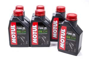 Motul USA 10W Fork Oil Expert Medium Shock Oil 1 L 6 pc P/N 105930-6