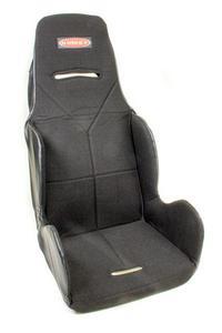 KIRKEY Black Tweed Hook Attachment Seat Cover P/N 16811