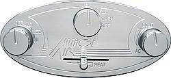 VINTAGE AIR Natural Gen II Streamline Climate Control Panel P/N 48104-RHQ