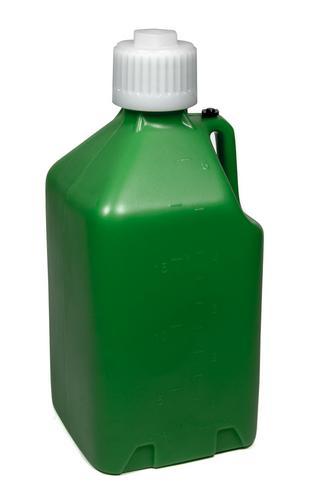 Scribner Plastic Green Plastic Square 5 gal Utility Jug P/N 2000G