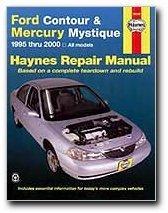 Haynes Ford Contour and Mercury Mystique (95 - 00) Manual (36006)