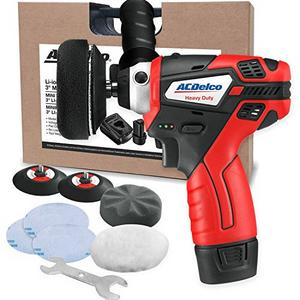 "ACDelco 12V Cordless 3"" Mini Polisher Tool Set"