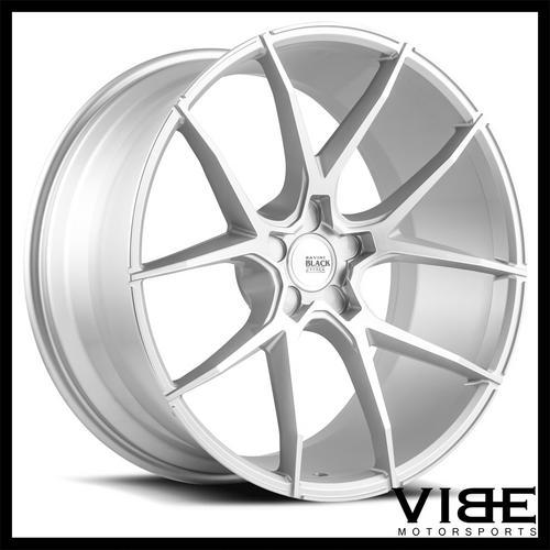20 Savini Bm14 Silver Concave Wheels Rims Fits Bmw E65 E66 745 750