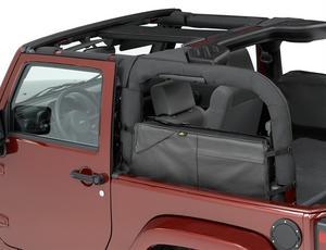 Bestop RoughRider Saddlebag; Duffle - Jeep 2007-2018 Wrangler JK 2DR & 4DR