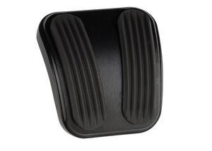 Lokar XBAG-6181 Billet Aluminum Curved E-Brake Pedal Pad Fits 66-77 Bronco