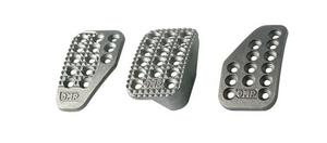 OMP Racing Universal Aluminum Brake/Clutch/GasPedal Pad Kit P/N OA1000