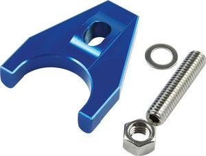 Allstar Performance Blue Anodized Chevy V8 Distributor Hold Down P/N 27502