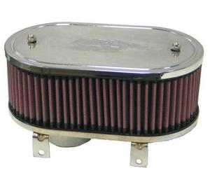 K&N Engineering 56-2000 Universal Round Tapered Air Filter - Rubber End Cap