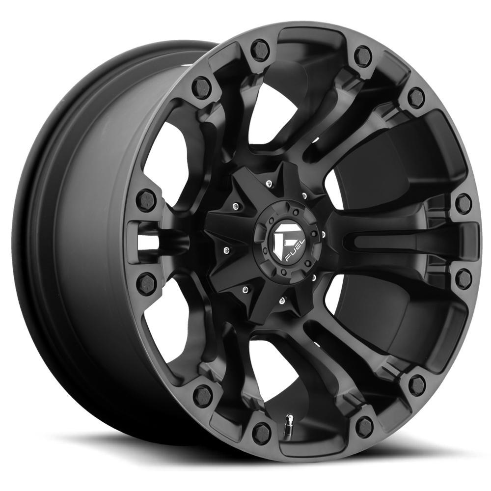 "Fuel D569 Vapor 17x9 6x5.5"" +20mm Black/Machined/Tint Wheel Rim 17"" Inch"