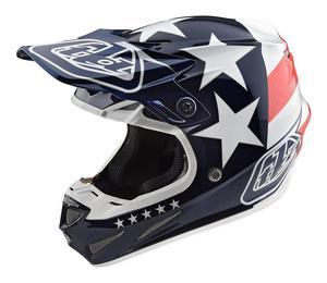Troy Lee Designs 2018 SE4 Composite Helmet Freedom Blue S
