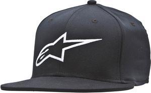 Alpinestars Adult Corporate Flat Flex Fit Hat Black LG/XL