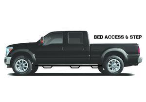 N-Fab D0994QC-6 Wheel To Wheel Nerf Step Bar w/Bed Access Fits 1500 Ram 1500