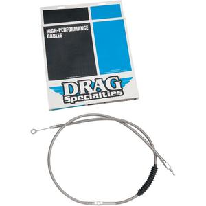 Drag Specialties 0652-1446 Braided High Efficiency Clutch Cable - 63 11/16in.