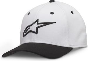 Alpinestars Ageless Curve Hat White/Black (White, Small - Medium)