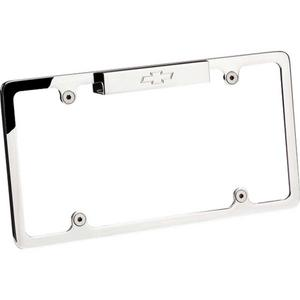 BILLET SPECIALTIES Bowtie Logo Polished License Plate Frame P/N 55320