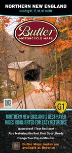 Butler Maps MP-123 G1 Series Map - Northern New England