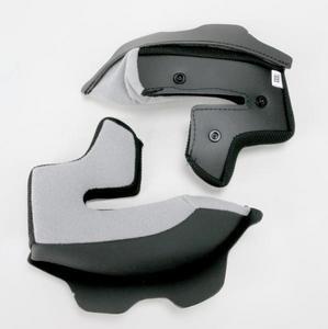 AFX 0134-0996 Helmet Cheek Pads for FX-Magnus - Black - 3XL