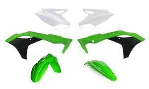 Acerbis Stock Colors Plastic Kit For Kawasaki KX 250 F 2017 2630625569