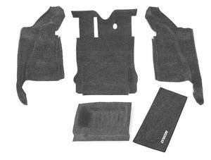 BedRug BRJK07R2 BedRug Cargo Kit Fits 07-10 Wrangler (JK)