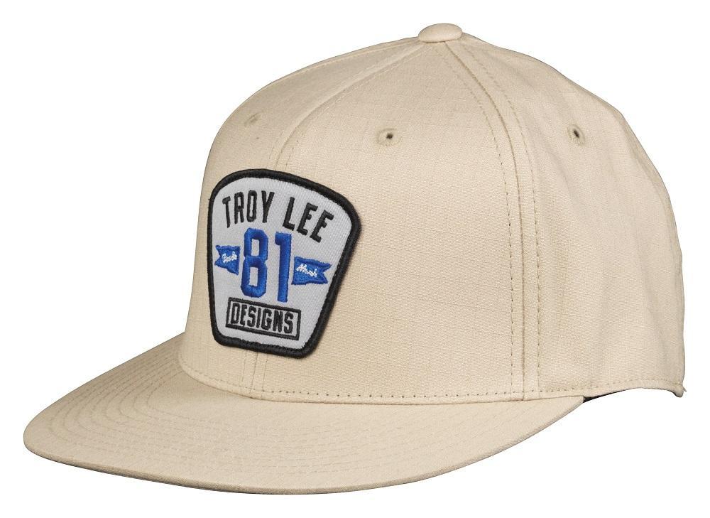 Troy Lee Designs 2015 Series 81 Hat Khaki Flexfit LG/XL