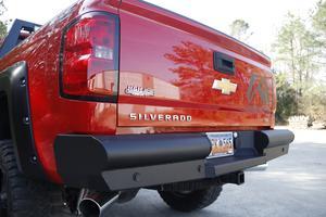 Fab Fours CS14-U3150-1 Elite Rear Bumper Fits 14-18 Sierra 1500 Silverado 1500