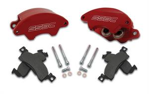 SSBC Performance Brakes A185BK SuperTwin; 2-Piston Disc Brake Kit
