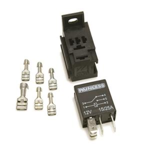 Painless Wiring 80136 Micro Relay w/Base And Terminals