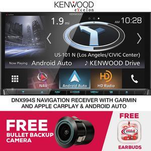 Kenwood eXcelon DNX994S Navigation Receiver Free Bullet Camera