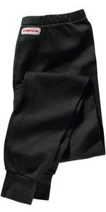 SIMPSON SAFETY X-Large Black Underwear Bottom P/N 20601X