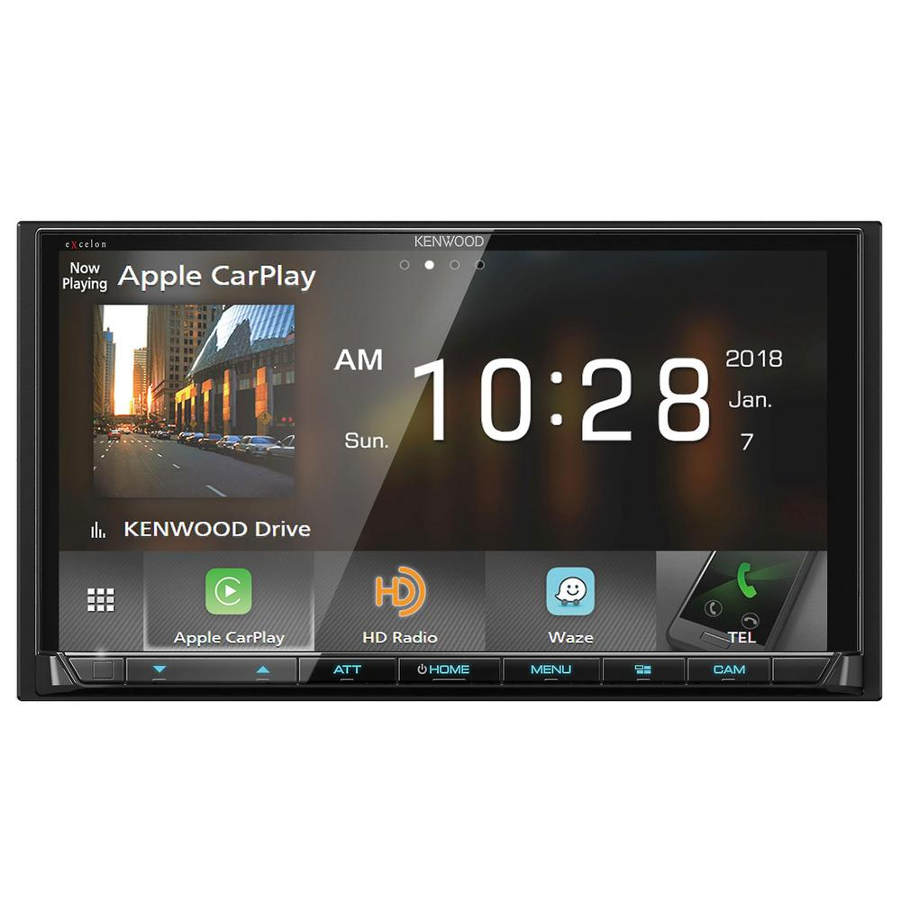 "Kenwood DMX905S 6.95"" Digital Multimedia Receiver Apple CarPlay Android Auto"
