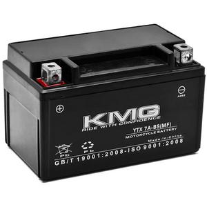 KMG YTX7A-BS Sealed Maintenace Free Battery High Performance 12V SMF OEM Replacement Maintenance Free Powersport Motorcycle ATV Scooter
