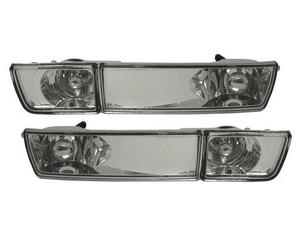 DEPO Glass 93-99 VW Golf/Jetta MK3 E-Code Chrome Fog Lights / Turn Signals