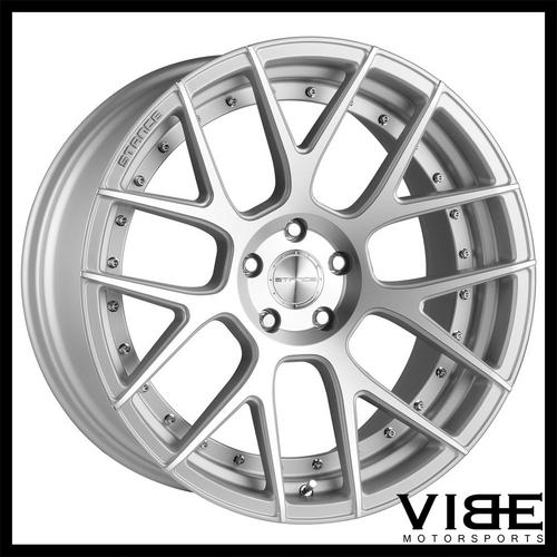 20 Stance Sc8 Silver Concave Wheels Rims Fits Bmw E92 E93 M3 Coupe