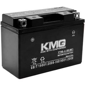 KMG YT9B-4-BS Sealed Maintenace Free 12V Battery High Performance SMF OEM Replacement Maintenance Free Powersport Motorcycle ATV Scooter Snowmobile Watercraft KMG
