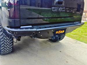 N-Fab T07RBS-H RBS Pre-Runner Style Rear Bumper Fits 07-13 Tundra