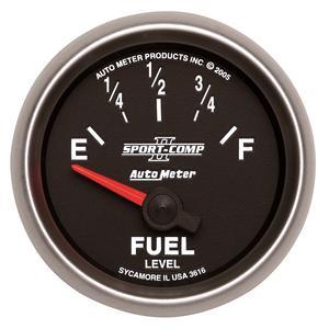 AutoMeter 3616 Sport-Comp II Electric Fuel Level Gauge