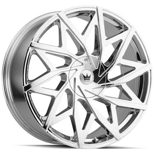 "Mazzi 372 Big Easy 22x9.5 5x115/5x5.5"" +18mm Chrome Wheel Rim 22"" Inch"